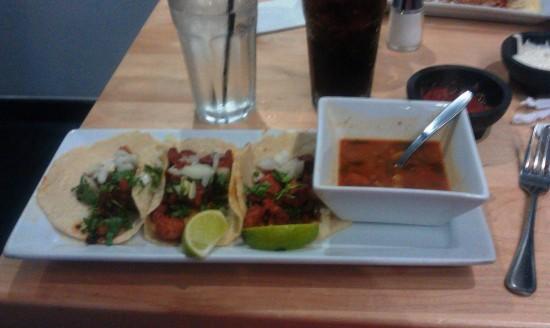 Agave Azul: Tacos Al Pastor.