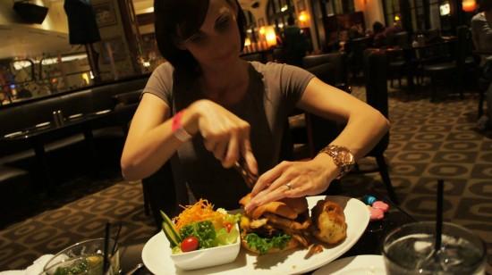 Hard Rock Hotel's The Kitchen: The Kitchen Burger.