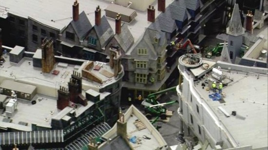 Diagon Alley - March 29, 2014 (courtesy of WESH).