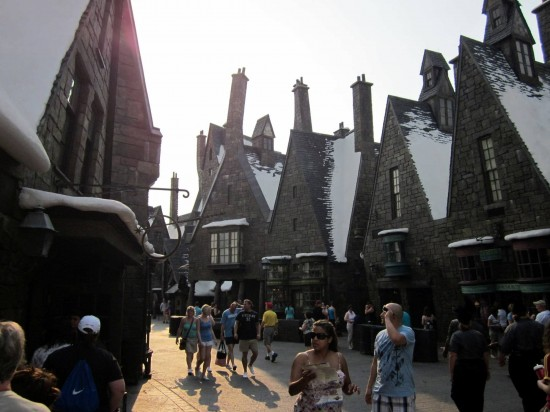 Don't let the snow on the rooftops in WWoHP fool you, check the weather forecast for your trip.