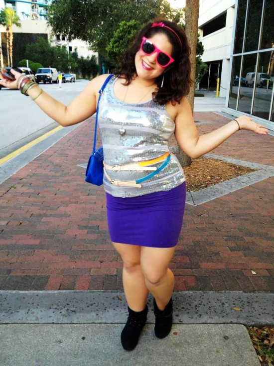 """Crazy 80s"" Pub Crawl in downtown Orlando."