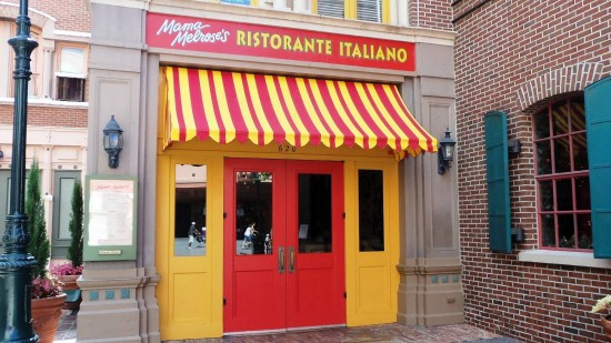 Mama Melrose Ristorante Italiano at Disney's Hollywood Studios.