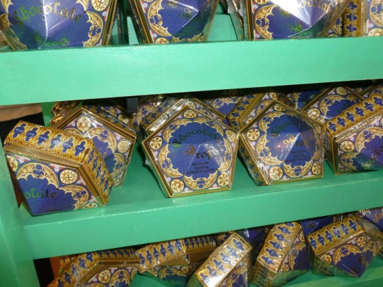 Chocolate Frogs from the Wizarding World of Harry Potter.
