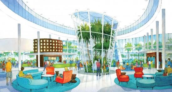 Universal Orlando's Cabana Bay Beach Resort.