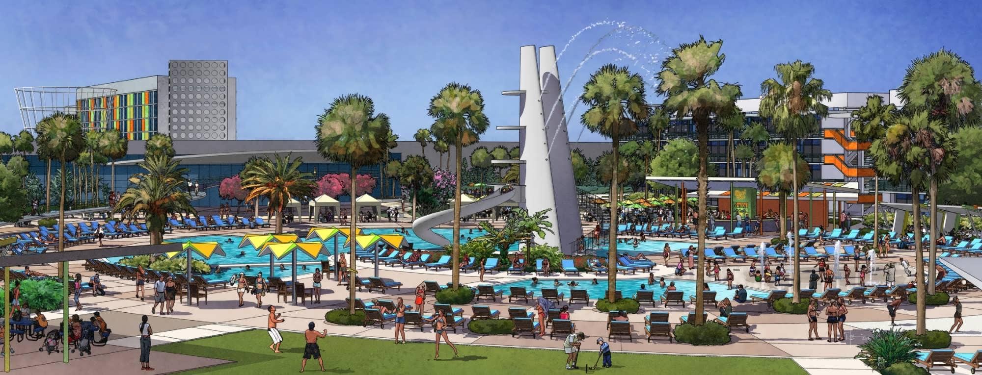 Universal Orlando S Cabana Bay Beach Resort