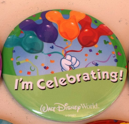 I'm Celebrating Disney badge