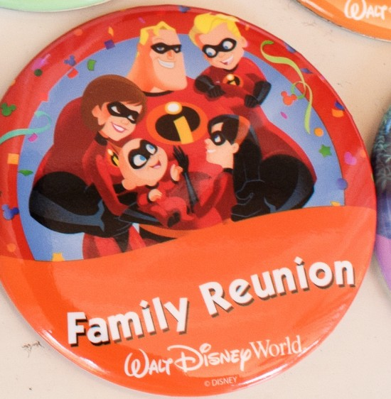 Family Reunion Disney badge.