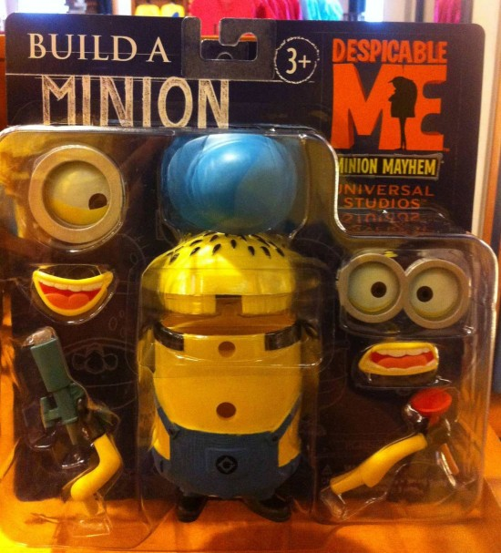 Build a Minion available at Universal Studios Florida.