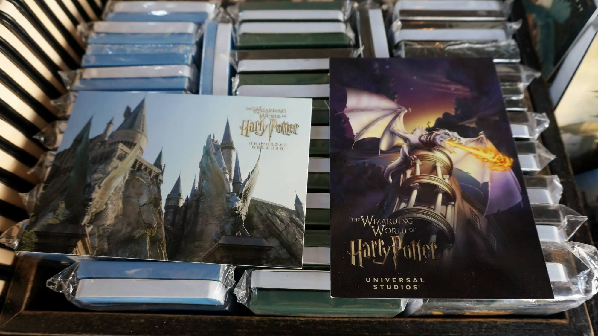The Hogsmeade postmark at the Owl Post in The Wizarding World of Harry Potter - Hogsmeade