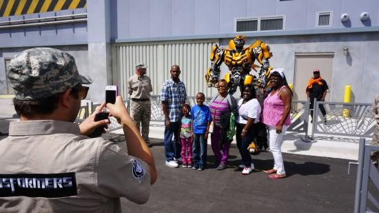 Bumblebee at Universal Studios Florida.