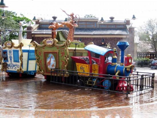 Fantasyland expansion at Magic Kingdom: The new Casey Jr. Splash & Soak Station.