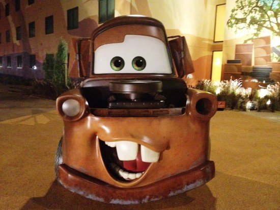 Disney's Art of Animation Resort - Cars wing.