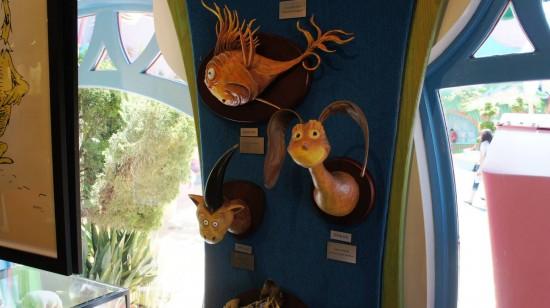 Gertrude Mcfuzz gift shop at Seuss Landing.