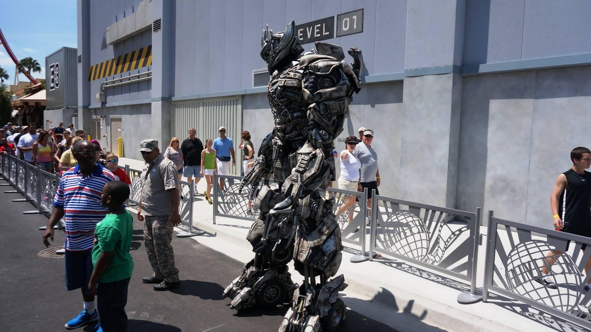 Transformers The Ride 3d At Universal Studios Florida
