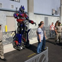 Optimus Prime at Universal Studios Florida.
