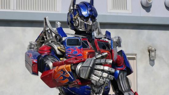 Optimus Prime at Universal Studios Florida.