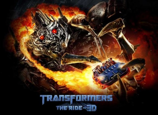 Transformers: The Ride at Universal Studios Hollywood.