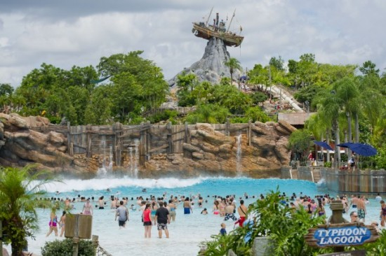 Typhoon Lagoon at Walt Disney World.
