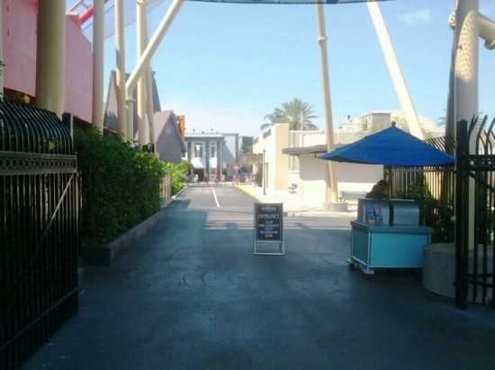 Side entrance to Universal Studios Florida.