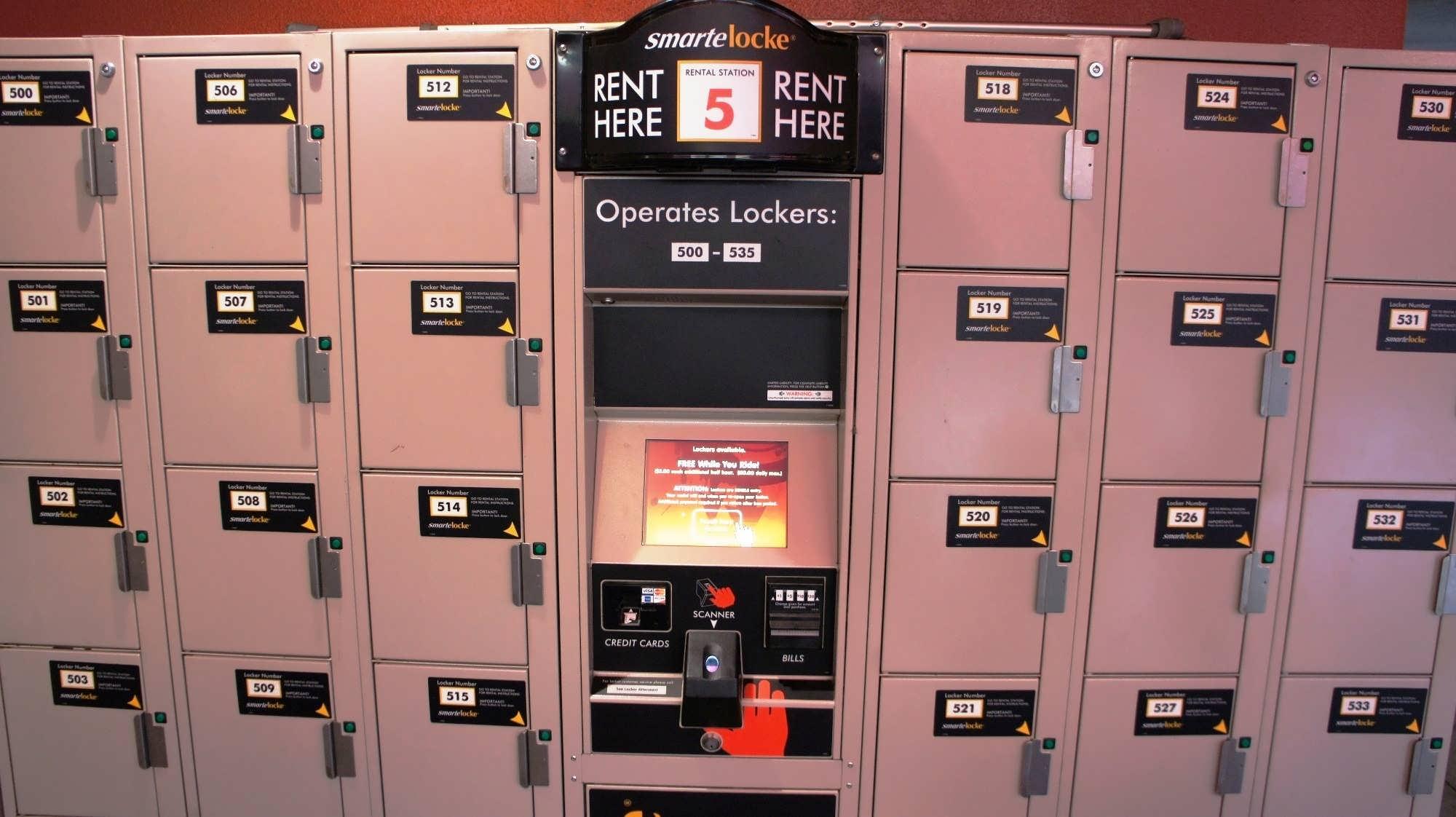USF lockers – Hollywood Rip Ride Rockit.