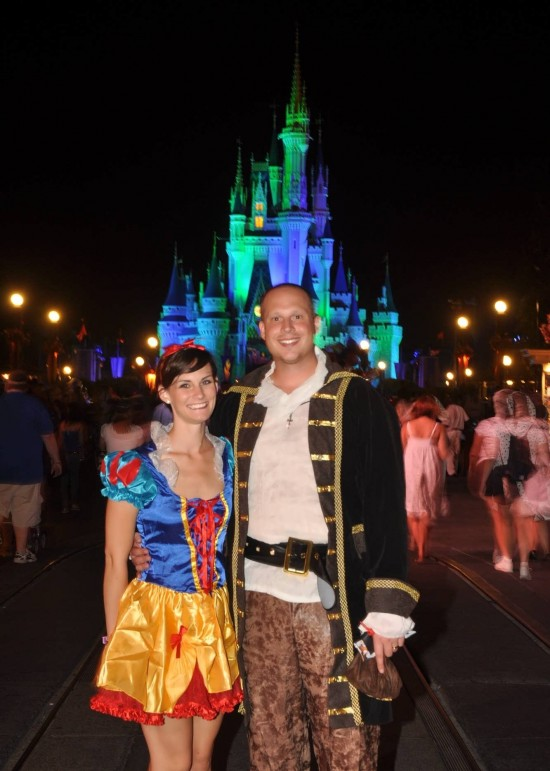 Mr. & Mrs. Orlando Informer at Mickey's Not-So-Scary Halloween Party.