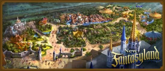 Fantasyland expansion at Magic Kingdom.