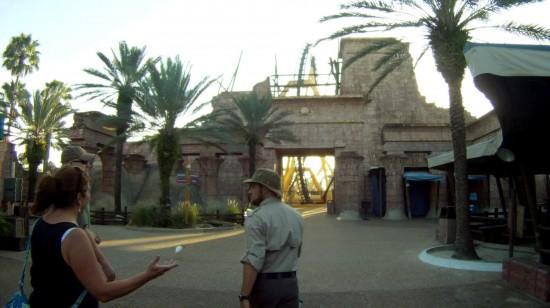 Busch Gardens Coaster Experience Tour.
