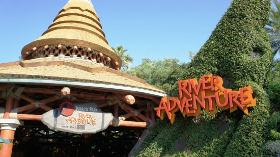Jurassic Park River Adventure at Universal's Islands of Adventure.
