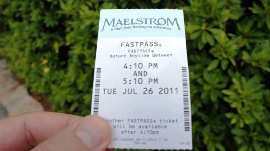 Likely the most coveted FastPass at Walt Disney World.