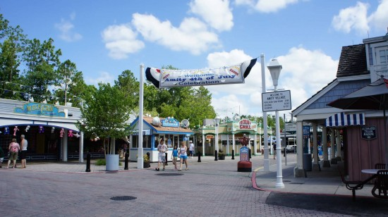 The old entrance to Amity inside Universal Studios Florida.