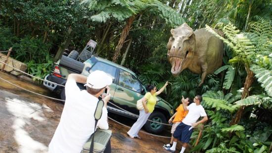 Jurassic Park inside Universal's Islands of Adventure.