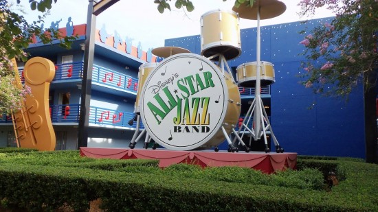 Disney's All-Star Music Resort.