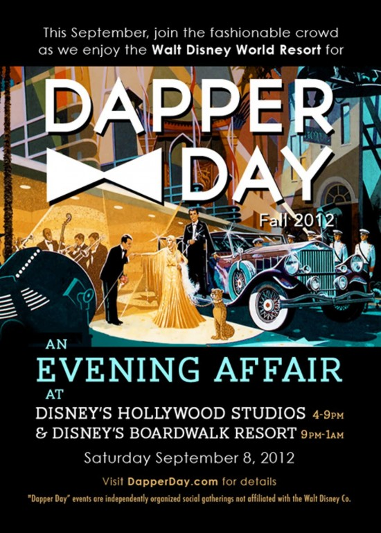 Dapper Day at Walt Disney World.