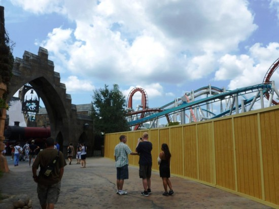Islands of Adventure trip report - September, 2012.