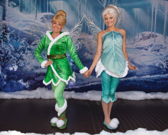 Tinker Bell & Periwinkle.