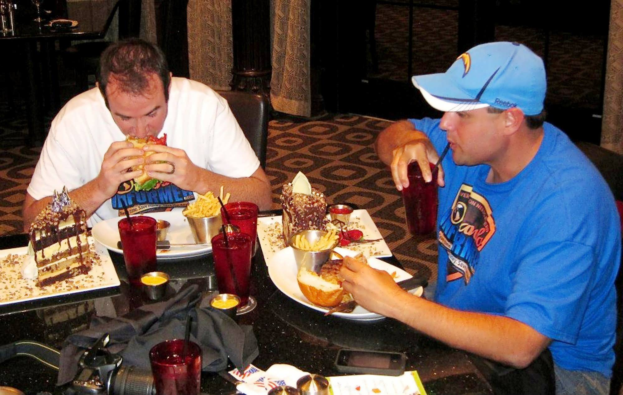 the kitchen challenge at universals hard rock hotel - Man V Food Kitchen Sink