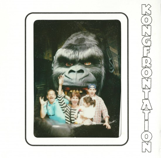 A young Orlando Informer and his family at Kongfrontation - March 1996.