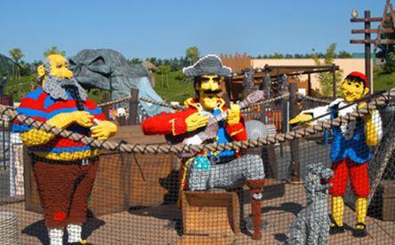 Pirate Shores at Legoland California.