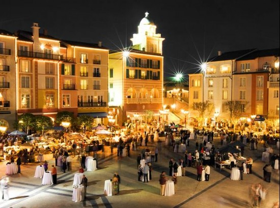 Harbor Nights at Portofino Bay Hotel returns Friday, October 19.