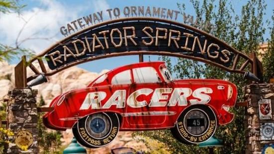 Cars Land at Disney's California Adventure Park.