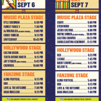 Rock The Universe 2013 band schedule - Universal Orlando.