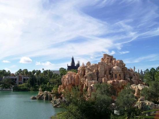 Islands of Adventure skyline - 2009.