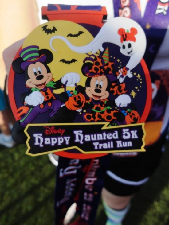 Disney's Happy Haunted 5K Trail Run.