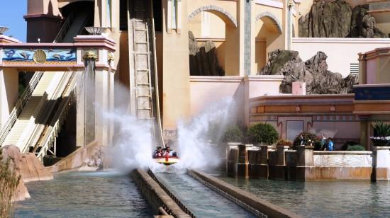 Journey to Atlantis at SeaWorld Orlando.