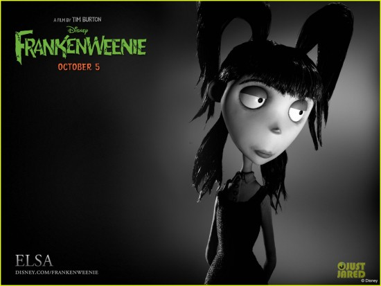 Disney's Frankenweenie - a Tim Burton Film.