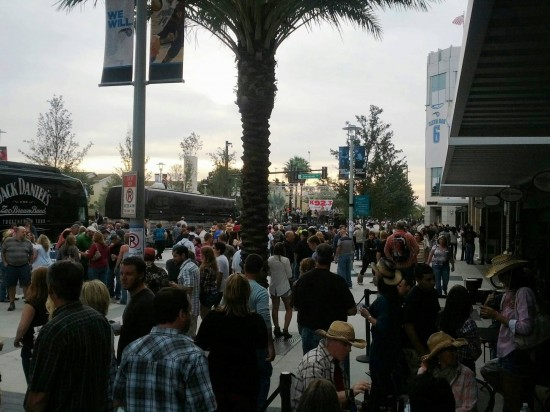 Zac Brown Band at Amway Center - October 27, 2012: Block party.