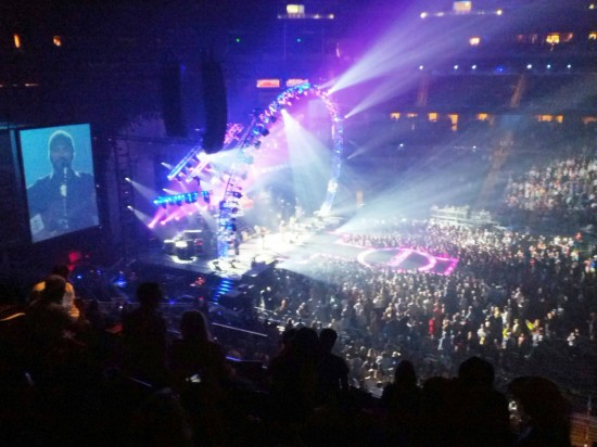 Zac Brown Band at Amway Center - October 27, 2012: Loge Box H, a little later in the concert.