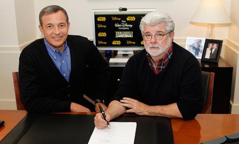 Disney aquires Lucasfilm.