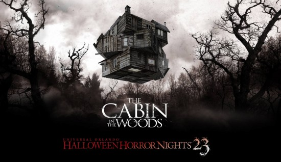 Cabin in the Wood - Halloween Horror Nights 2013.