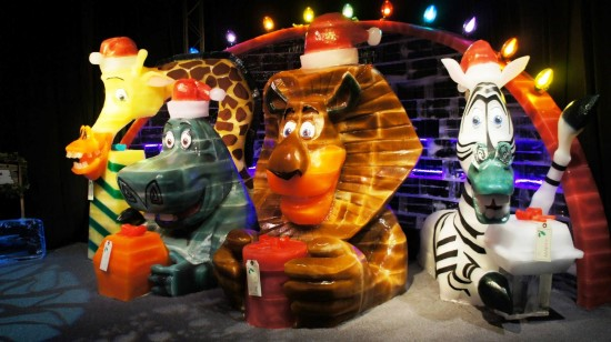 ICE! at Gaylord Palms 2012 featuring Merry Madagascar.